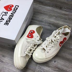 NWT Converse Comme des Garçons Sneakers Size 10